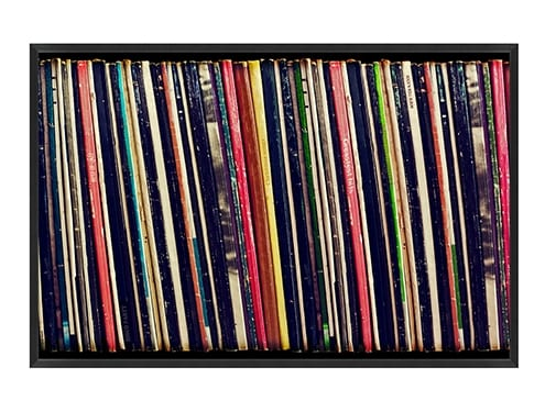 Record Collection Wall Art
